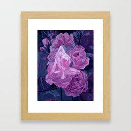 strength and beauty Framed Art Print