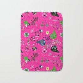 Cycledelic Pink Bath Mat