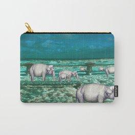 Elefantes en movimiento. Carry-All Pouch
