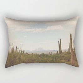 Down Desert Roads, II Rectangular Pillow