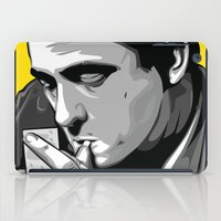 johnny cash iPad Cases featuring Cash by Digital Sketch