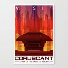 Visit Coruscant Canvas Print