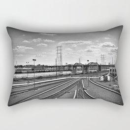 Rail Roads Rectangular Pillow