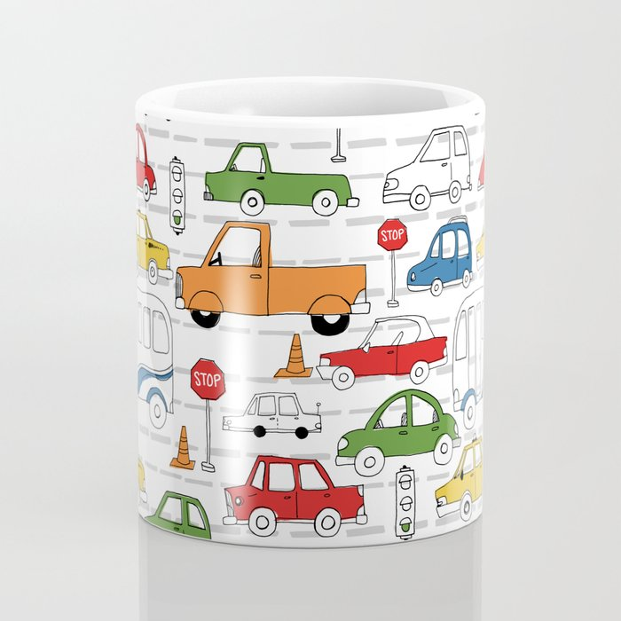 Busy Traffic Pattern Coffee Mug