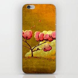 Morning Glory Tree iPhone Skin