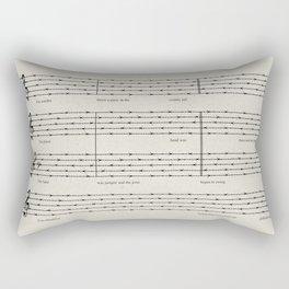 Everybody, let's rock Rectangular Pillow