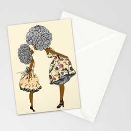 Give mommy a Kiss Stationery Cards