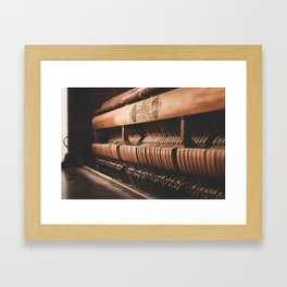 musical hammers Framed Art Print