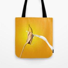 Banana Splash Tote Bag