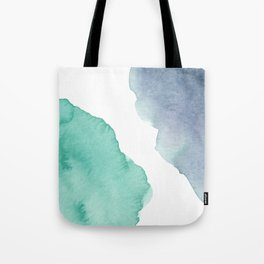 Watercolor Drops Tote Bag