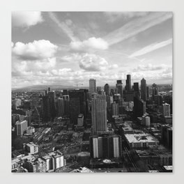 Crazy Skies of Seattle Canvas Print