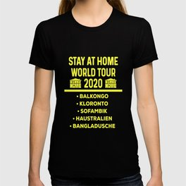 Stay At Home stayathome 2020 Virus -19 T-shirt