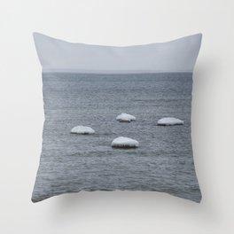 Winter Minimal Throw Pillow