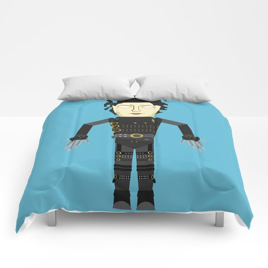 Vector Edward Hand scissors Comforters