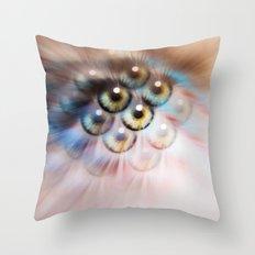 Look Deeper Throw Pillow