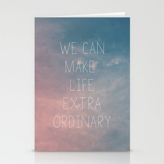 Extraordinary I Stationery Cards