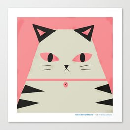 #30daysofcats 16/30 Canvas Print