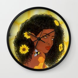 Queen Bee Wall Clock