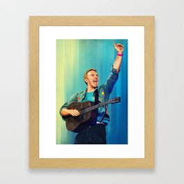 Chris Martin - MX Framed Art Print