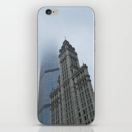 Chicago in the Clouds iPhone Skin