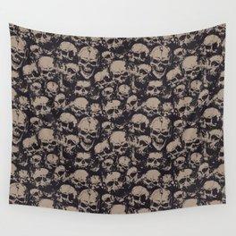 Skulls Seamless Wall Tapestry