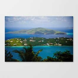 Virgin Islands Canvas Print