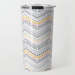 Dash & Dot - Neapolitan Chevron Travel Mug