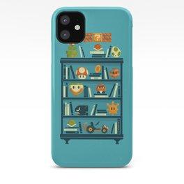 Mario Shelf iPhone Case