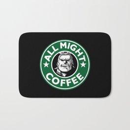 All Might Coffee Bath Mat