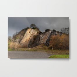 Dinas Rock at Pontneddfechan Metal Print