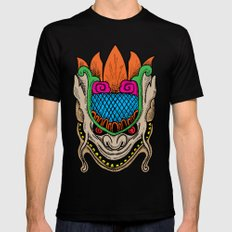 MASK MONSTER MEDIUM Black Mens Fitted Tee