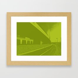 Bridge 7 Framed Art Print