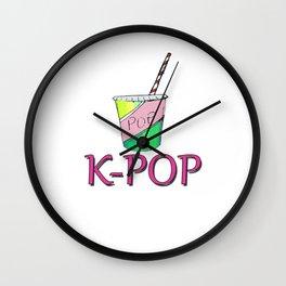 Soda K-Pop III Wall Clock