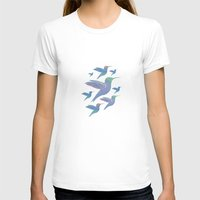 wings T-shirts featuring Wings by sandesign