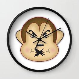 Mono Mudo Wall Clock