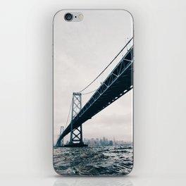 Under the Bay Bridge iPhone Skin