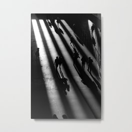 Tate Modern - Black and White Metal Print