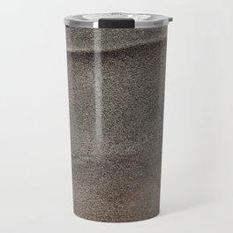 Crumpled Sandpaper Texture Travel Mug