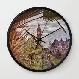 London summer Wall Clock