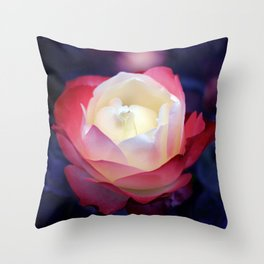 bed of roses: night shades Throw Pillow