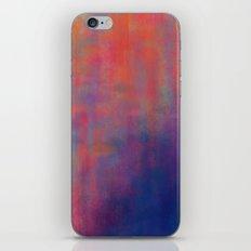 sunset pond iPhone & iPod Skin