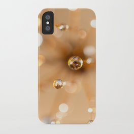 Queen Anne's Lace in Gold iPhone Case