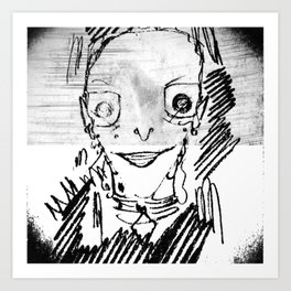 Sinister Violence! Art Print