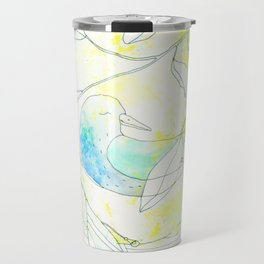 Nido | Granatovych Artwork | Oils on Water and Watercolors Travel Mug