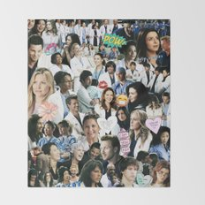 Greys Anatomy - Too Sassy for You Throw Blanket