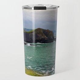 Screda Cove, Hartland Quay, Devon Travel Mug