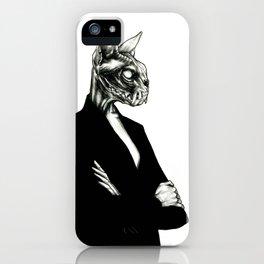 The wait iPhone Case