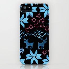 Christmas Fair Isle iPhone Case