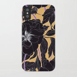 Yellow Peonies iPhone Case