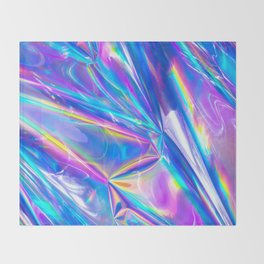 Just A Hologram Throw Blanket